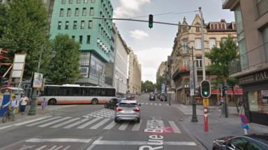 Un affaissement de chaussée a été constaté dimanche rue Belliard