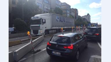 Fermeture des tunnels Rogier et Botanique: le trafic rouvert à la circulation