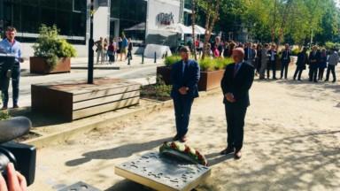"""Un hommage rendu aux victimes du terrorisme à Schuman : """"Amour pour tous"""""""