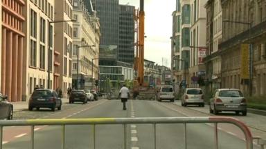 La circulation au Boulevard Emile Jacqmain est rétablie