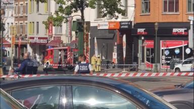 Incendie à Schaerbeek : quatre personnes intoxiquées et évacuées à l'hôpital