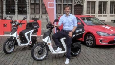 Après les voitures, Poppy se lance dans les trottinettes et scooters partagés à Bruxelles