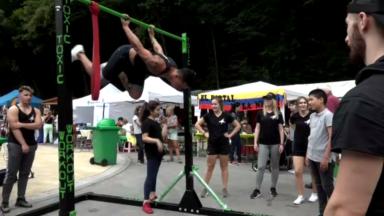 """Le """"Street Work Out"""" : un sport en plein air qui permet de se reconstruire"""