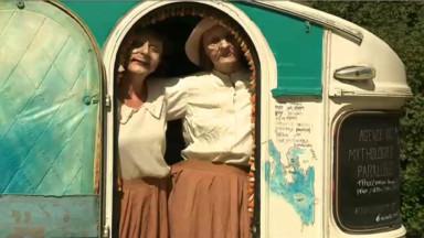 Festival Théâtres nomades : tentes berbères, roulottes et caravanes s'installent au parc Royal