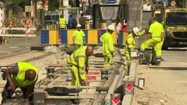 La Stib profite des travaux de remplacement des rails de tram pour sécuriser ses arrêts