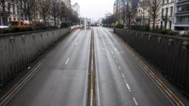 Tunnel Botanique : le motard impliqué dans l'accident est hospitalisé