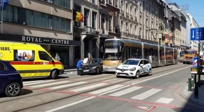 Accident Tram Rue Royale - Facebook Alertes Contrôles de Police Infos Bruxelles