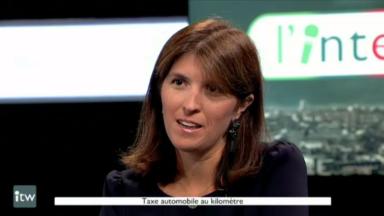 """Alexia Bertrand (MR) : """"Ce qu'on veut, c'est une taxation sur la base de l'écoscore"""""""