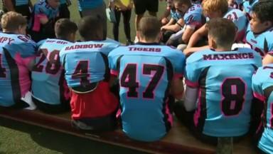 Football américain : les jeunes des Brussels Tigers font déjà le show en championnat
