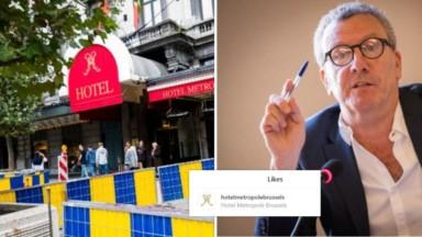 Piétonnier : la fin de la guerre entre Yvan Mayeur et l'hôtel Métropole ?