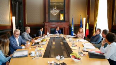 Le gouvernement bruxellois prépare son premier budget