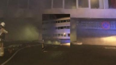Woluwe-Saint-Lambert : incendie dans un parking souterrain