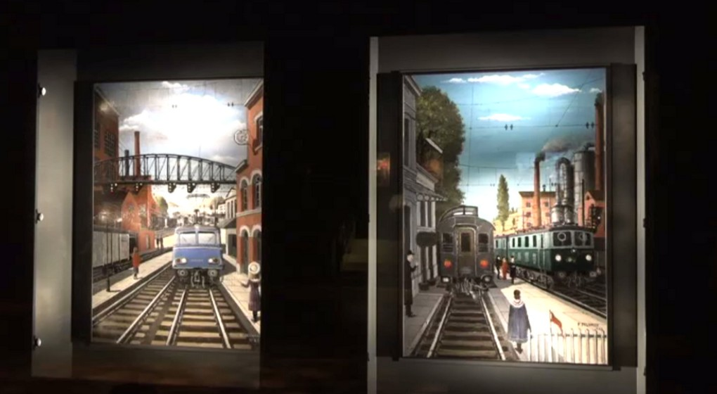 Peintures Paul Delvaux - Exposition Train World