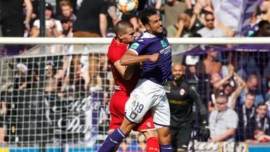 Anderlecht, vaincu 1-2 par l'Antwerp, reste bloqué à 5 points sur 21