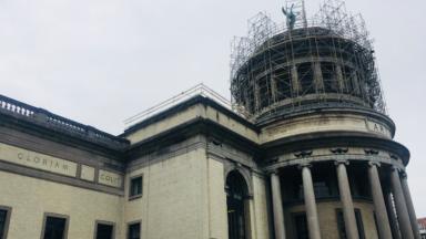 Les travaux de rénovations des toitures du Cinquantenaire se terminent