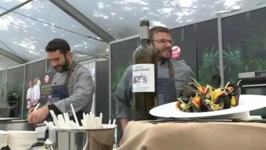 """""""Eat! Brussels, Drink! Bordeaux"""" lancé pour la dernière fois au Parc de Bruxelles"""