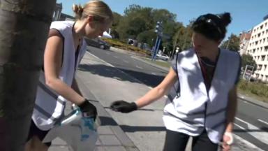 World Clean Up Day : les commerçants bruxellois se retroussent aussi les manches