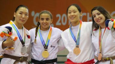 Amal Amjahid remporte la médaille d'or en Jiu-Jitsu en Corée du sud