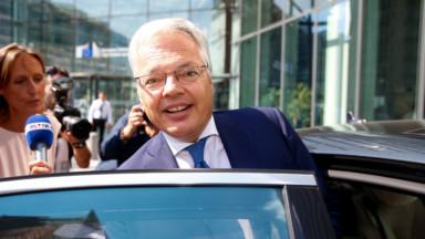 Didier Reynders : son audition comme futur commissaire européen est fixée le 2 octobre
