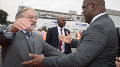 Le président congolais Félix Tshisekedi est arrivé lundi soir à Bruxelles