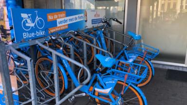 Vélos partagés : le système Blue-bike connaît un développement important à Bruxelles