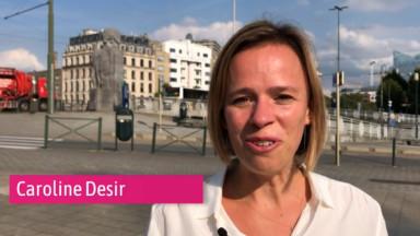 Rue de la Loi : 3 questions à Caroline Désir