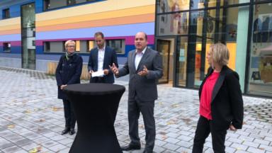 Deux premières éco-crèches inaugurées dans le quartier Tivoli à Laeken