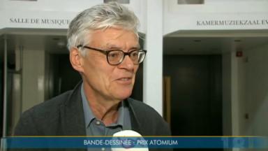 François Schuiten, lauréat du prix Atomium de Bruxelles