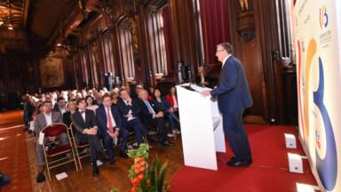 Fête de la Fédération Wallonie-Bruxelles : les officiels se sont réunis à l'Hôtel de Ville de Bruxelles