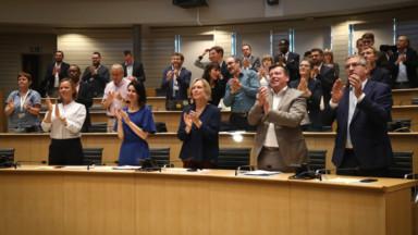 Le nouvel exécutif de la Fédération Wallonie-Bruxelles a prêté serment