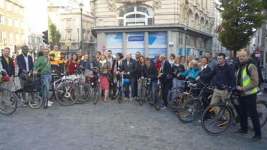 Des députés bruxellois ont participé à un test de connaissance sur la mobilité