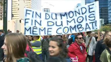 De jeunes Européens manifesteront jeudi pour le climat devant le Berlaymont