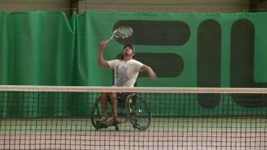 Premier tournoi de tennis handisport organisé à Woluwe-Saint-Pierre
