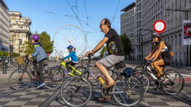 Journée sans voiture : 74.000 personnes de passage au Bucolic Brussels sur la Place des Palais