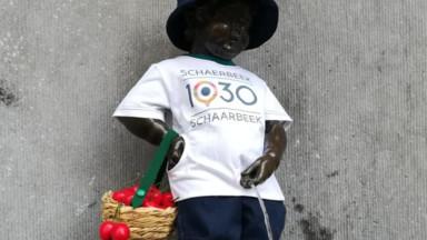Manneken Pis : Schaerbeek lui offre son 1030e costume