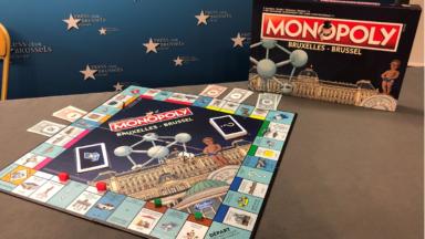 10.000 exemplaires d'édition limitée de Monopoly Bruxelles mis en vente