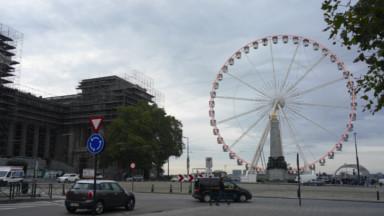 Un tour gratuit de Grande Roue, pour les touristes bloqués à Bruxelles par Thomas Cook