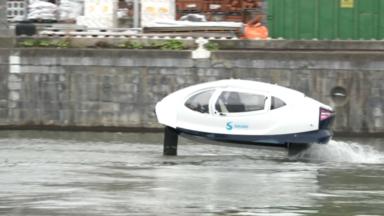 Sea Bubble: un bateau-taxi électrique a été testé pour la première fois à Bruxelles