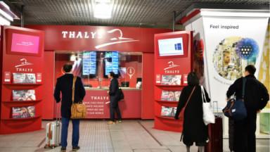 Thalys prépare des trains au départ de Bruxelles à destination des pistes de ski françaises