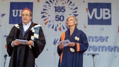 L'ULB et la VUB célèbrent leur 185e et 50e rentrées académiques lors d'un même événement