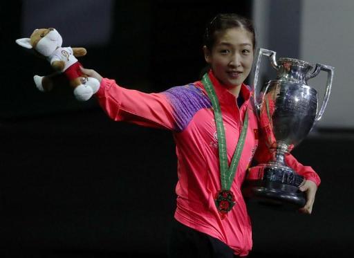 La Chinoise Shiwen Liu Remporte La Coupe Du Monde De Tennis De