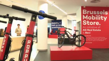 Le Brussels Mobility Store ouvre ses portes pour tester la mobilité de demain