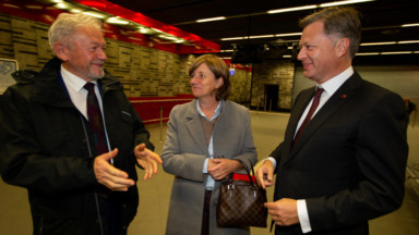 Un nouvel accès direct entre la gare de Brussels Airport et les entreprises avoisinantes