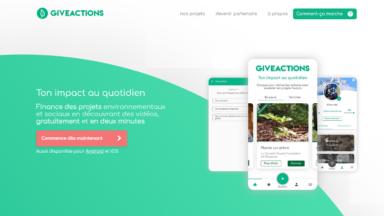 GiveActions remporte le prix de la startup digitale verte de l'année