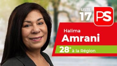 Halima Amrani n'est plus candidate à la vice-présidence du PS bruxellois