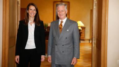 Le Roi charge Sophie Wilmès de la formation d'un gouvernement
