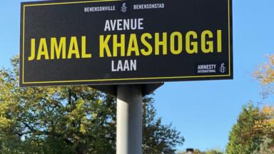 En hommage au journaliste Jamal Khashoggi, l'avenue Franklin Roosevelt rebaptisée à son nom