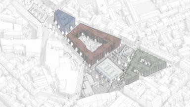 """La Ville de Bruxelles présente son projet de rénovation pour le """"Rempart des Moines"""""""