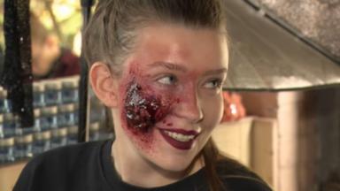 Un bon déguisement d'Halloween passe par un bon maquillage