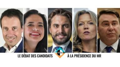 Versus propose un débat pour la présidence du MR : voici les profils des cinq candidats